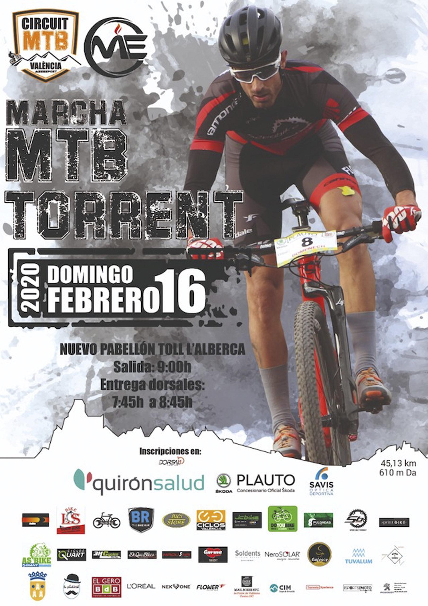Marcha MTB Torrent 2020, Marcha Torrent, Circuit mtb Valencia
