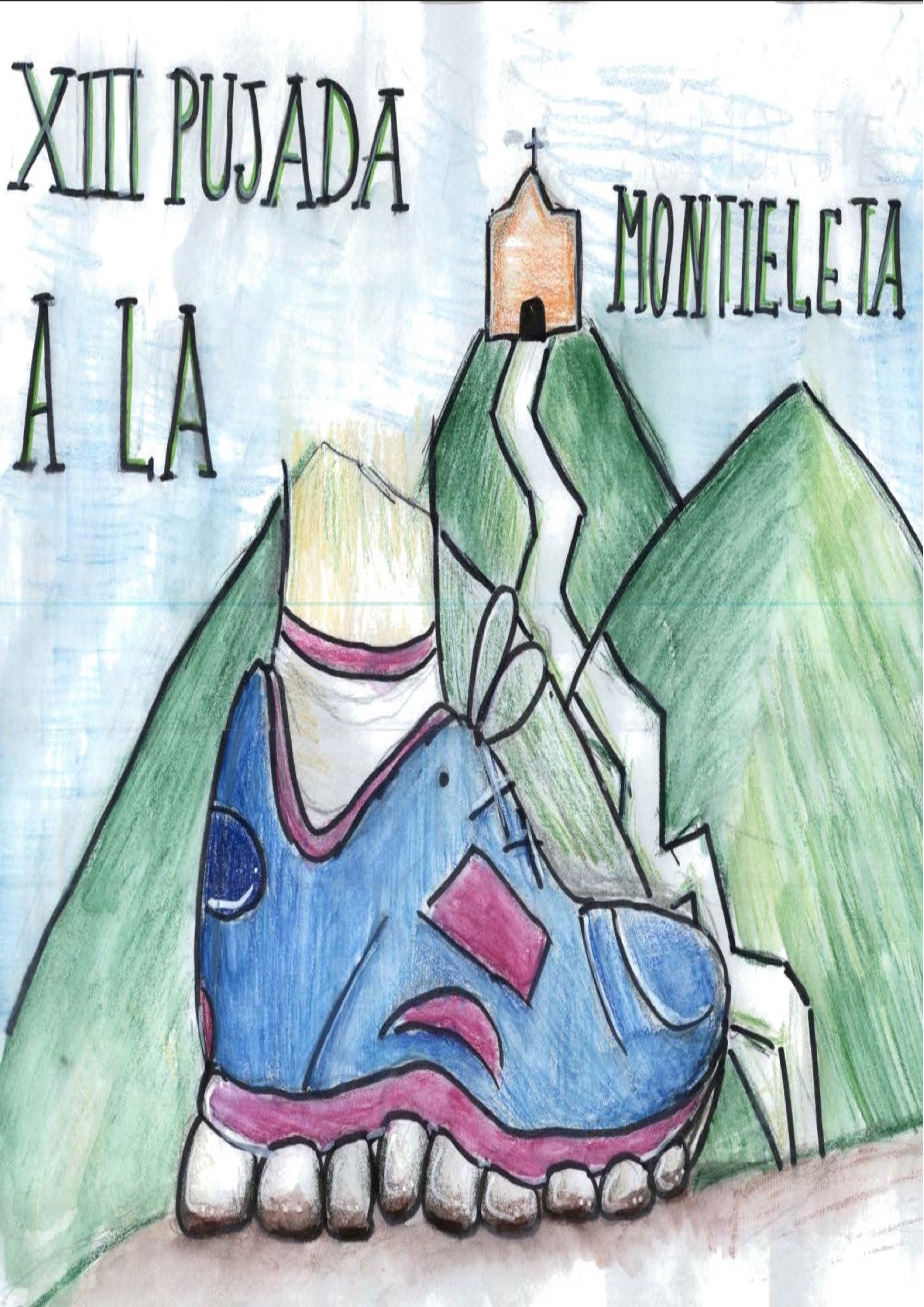 Montieleta, Pujada, Puja, Benaguasil