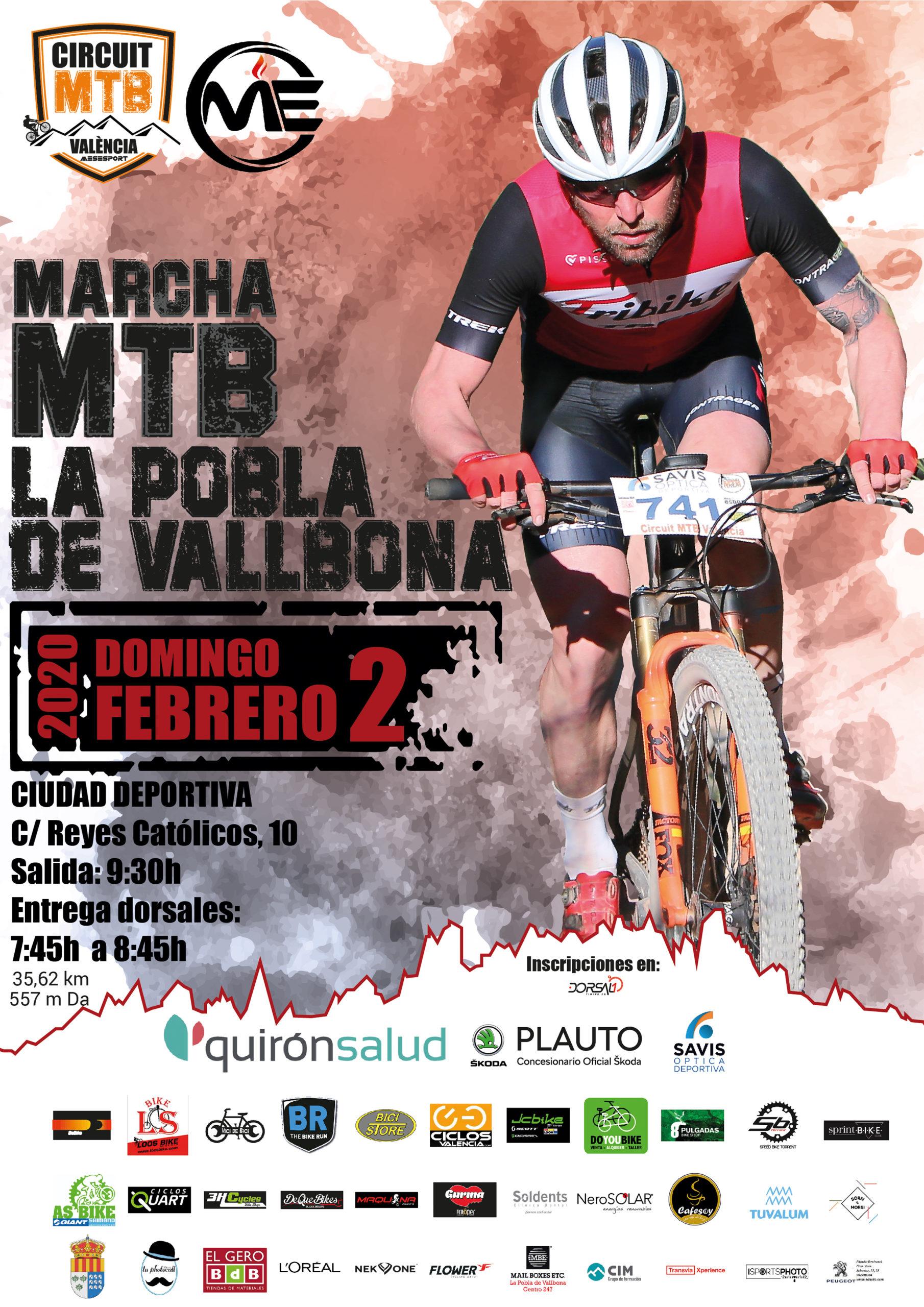 Marcha BTT, Marcha MTB, Marcha La pobla de Vallbona, Circuit mtb Valencia, Circuito Serrania, Mountain bike,