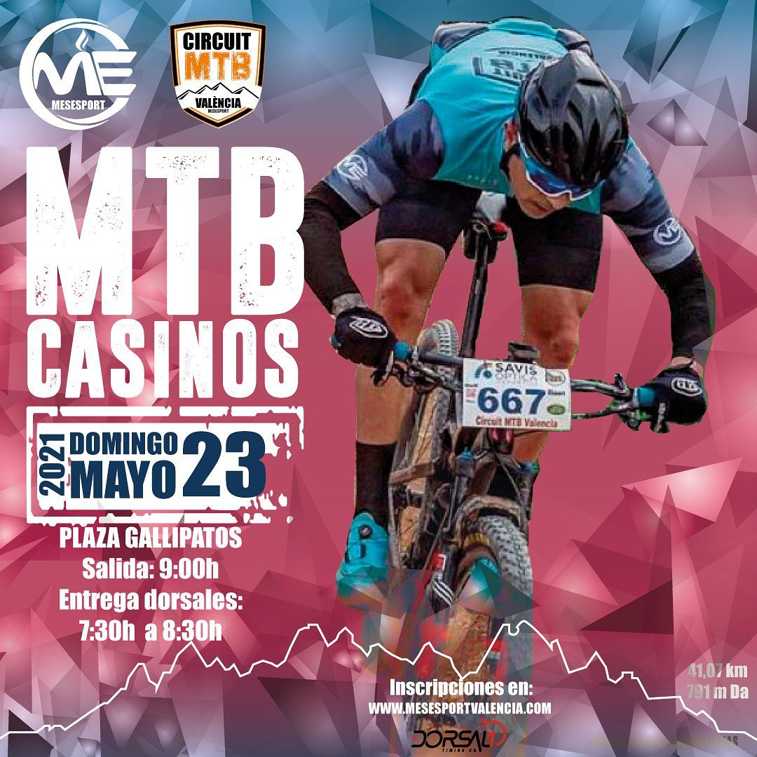 Marcha btt Casinos 2021